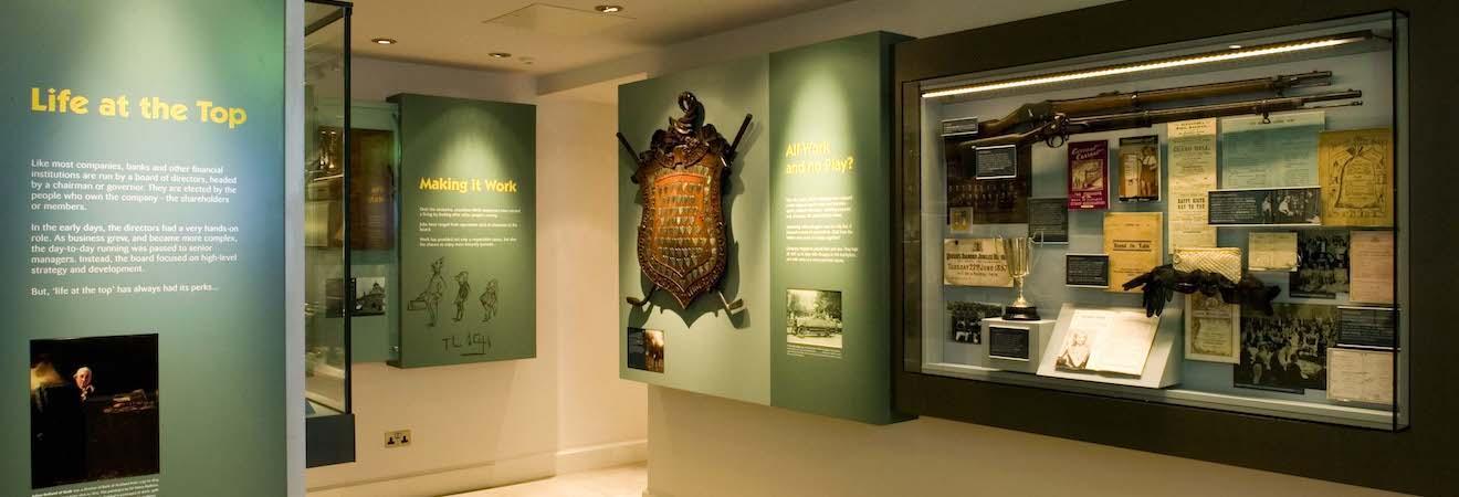 Museum on the mound edinburgh scotland