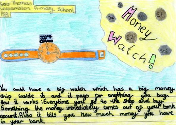 Money for the future, Williamston Primary School, West Lothian.